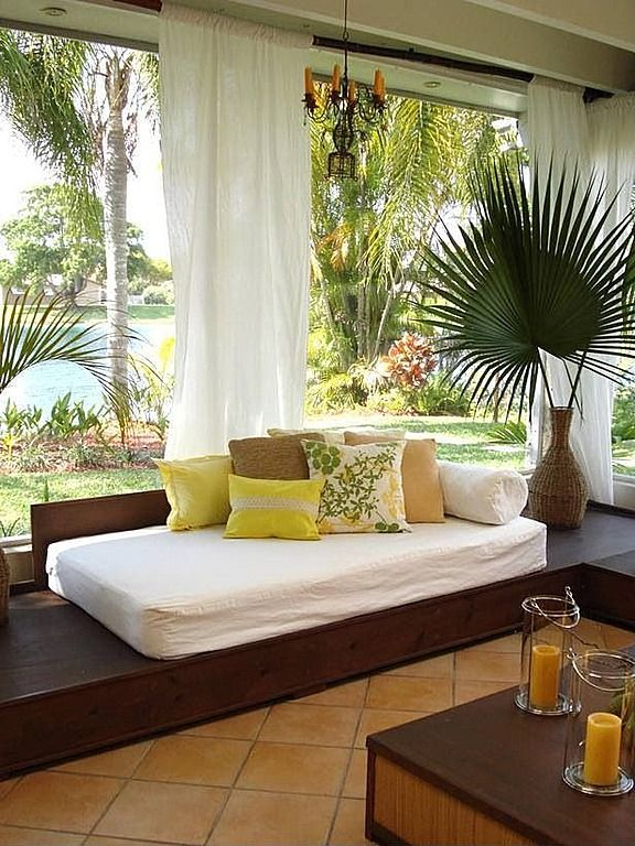 Tropical Living Room - Come find more on Zillow Digs!