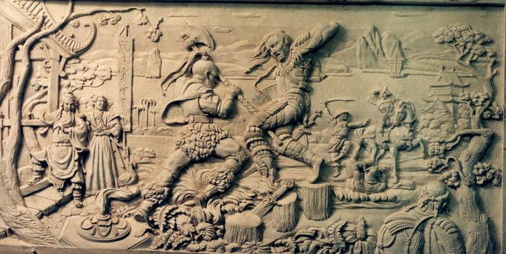 самурайские игры | Резьба по дереву, кости и камню