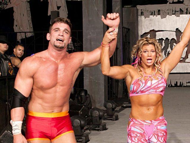 Unknown Wives of the WWE  Jackie-Gayda/Charlie Haas