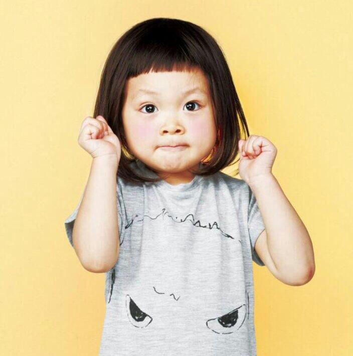 I know she is just a little girl, but I am honestly considering getting her haircut! #sarang