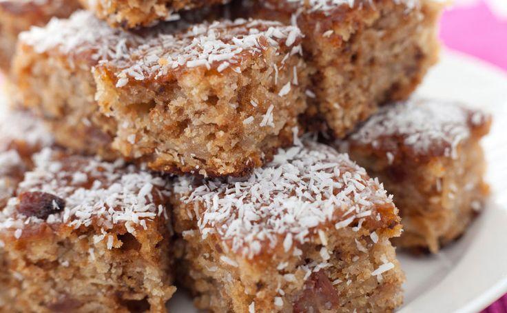 Dieser leckere und vor allem saftige und total schnell gemachte Schoko-Kokos-Kuchen ist ohne Mehl und Dotter, schmeckt aber einfach himmlisch.