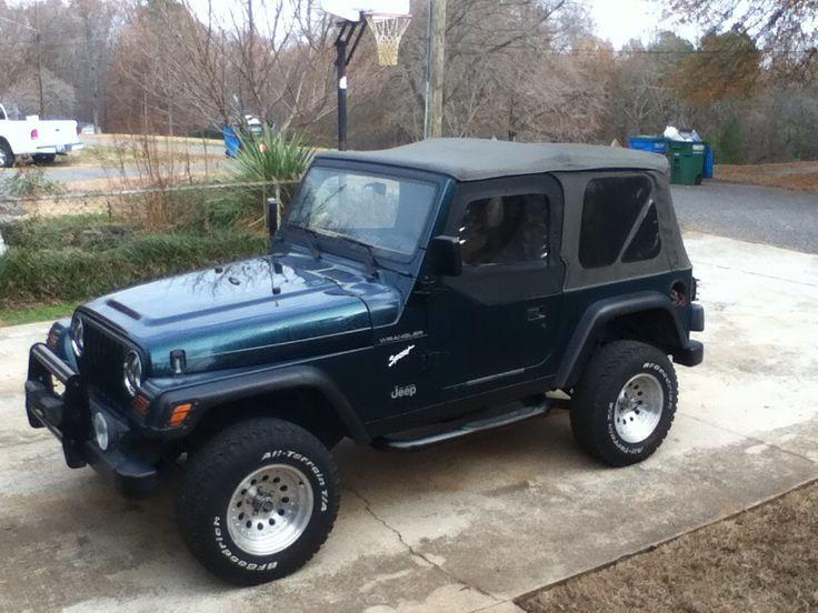 1st My 97 Jeep Wrangler Tj