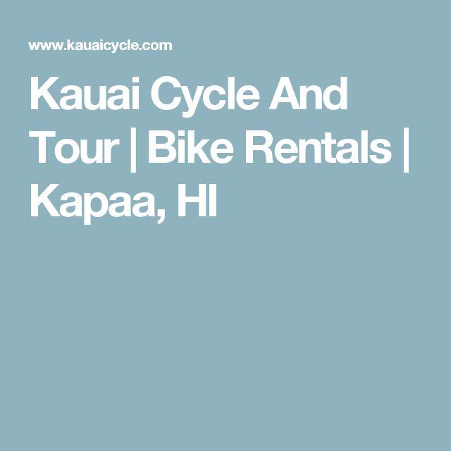 Kauai Cycle And Tour   Bike Rentals   Kapaa, HI