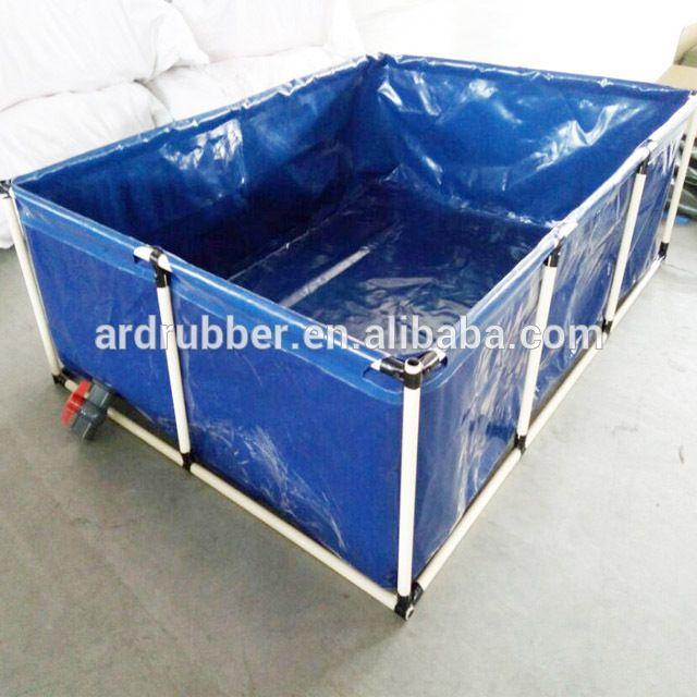 Source Environmental And Safety Of Pvc Fish Pond Tank For Fish Farming On M Alibaba Com Fish Farming Backyard Aquaponics Aquaponics Greenhouse