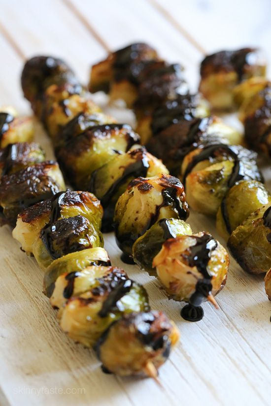 When you think of grilled vegetables, corn, eggplant, peppers and zucchini usually come to mind. But did you know you can make Brussels sprouts on the grill too? They come out perfectly charred on the