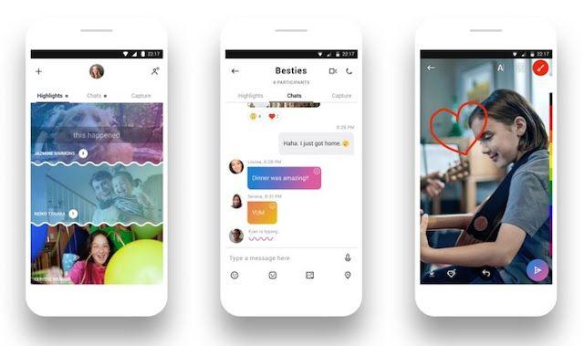 Microsoft moderniza Skype para la era de Snapchat e IMessage   La popular aplicación de chat de voz y video de Microsoft está recibiendo una actualización importante con nuevo 'look' y características para convencerte de que lo uses más.  Skype está recibiendo un cambio de imagen aunque es difícil decir si es cool o simplemente está tratando de lucir bien.  A partir del jueves el software de videoconferencias y chat de 13 años de edad que fue comprado por Microsoft hace seis años está…