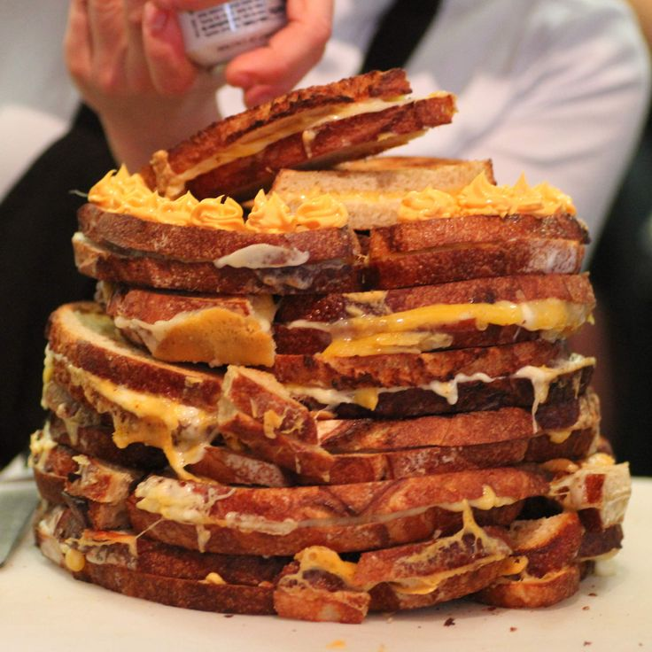 The Grilled Cheese Cake The American Grilled Cheese Kitchen, San Francisco Approximate Calorie Count: 18901