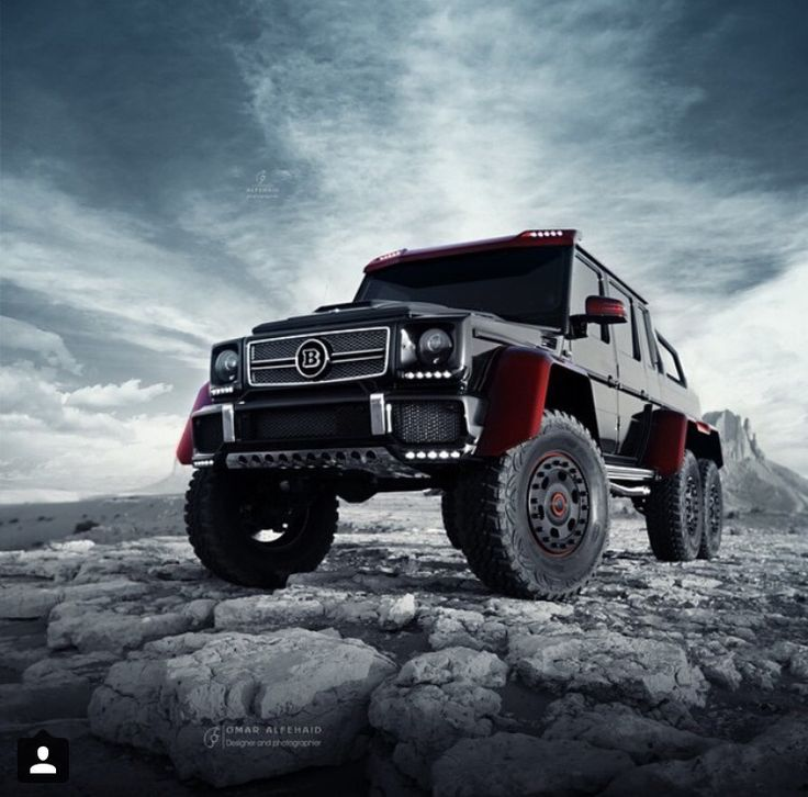 Mercedes Benz Brabus 6x6 monsterous  Luxury Cars and Jets