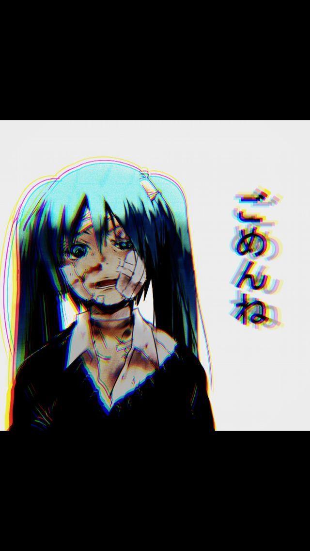 Pin By Beatrix On Hatsune Miku Yandere Anime Dark Anime Anime