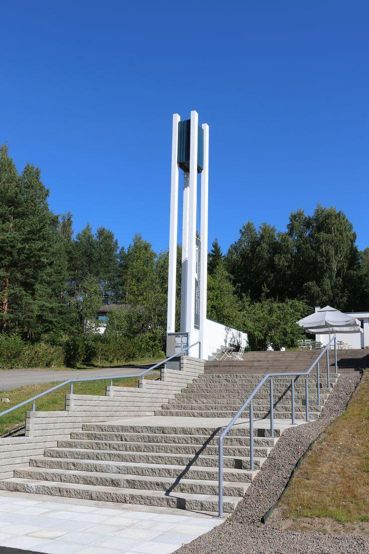 Porraskivi Lohkoaskel ja Aitakivimuuri Vuohijärven kirkon edustalla