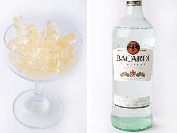 Drunken Diy gummies alcoholic candy: I had these the other day and they are AWESOME! But it was with whipped vodka!