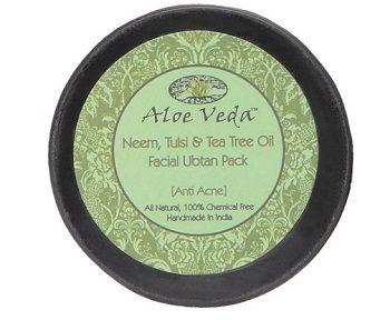 Aloe Veda Neem, Tulsi & Tea Tree Oil Facial Ubtan Pack