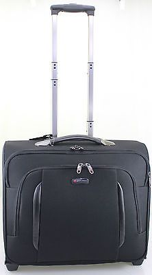 """17"""" #executive 2 wheel #cabin business briefcase #laptop trolley case bag ad13,  View more on the LINK: http://www.zeppy.io/product/gb/2/331647545031/"""