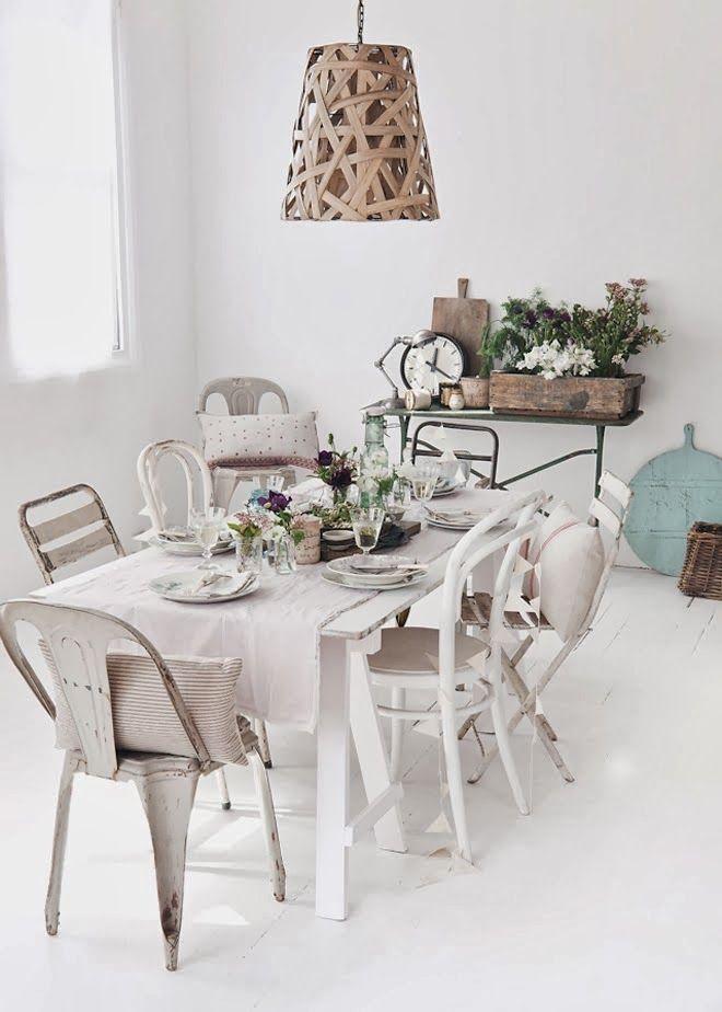 Une belle table de printemps