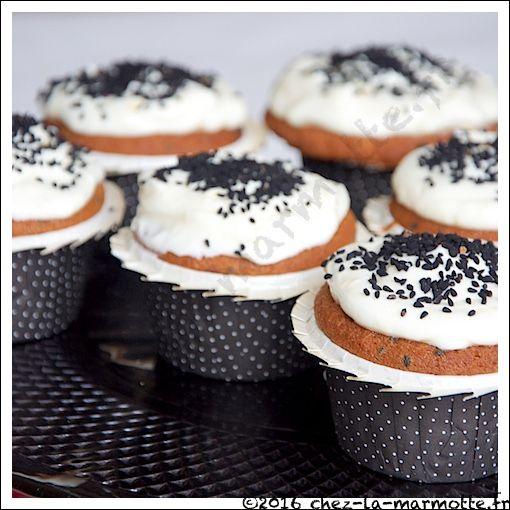 Muffins à l'orange et graines de nigelle (Bataille Food #32) | Marmotte cuisine !