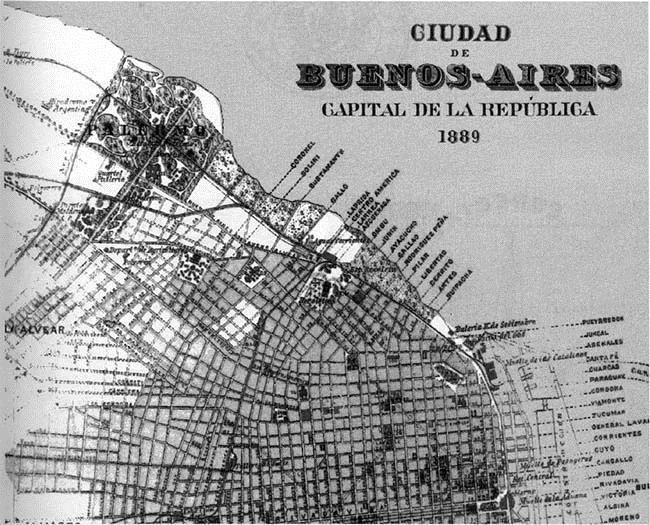 Cronologia Del Barrio De Palermo Periodo 1880 1899
