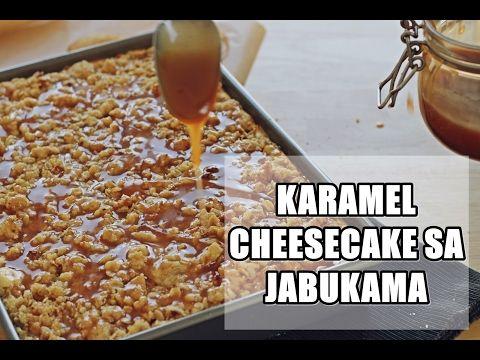 Karamel cheesecake sa jabukama | Just Cake The Cupcake