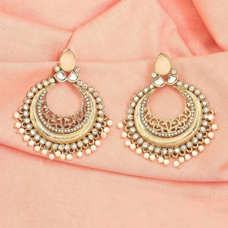 25 Best Ideas About Indian Jewelry Sets On Pinterest: Indian Jewelry Earrings Designs Gold Earrings From India