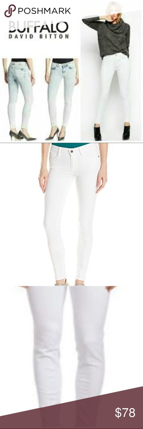 SKINNY Stretch ANKLE GRAZER BUFFALO Bitton NEW SKINNY Stretch Mid Rise ANKLE GRAZER BUFFALO Bitton NEW without Tags ~ Size 16 Ladies or Waist 36. AMAZINGLY SOFT PAIR OF JEANS! Perfect for casual or dressy wear!! I ship daily. 98% cotton 2% spandex Buffalo David Bitton Jeans Skinny