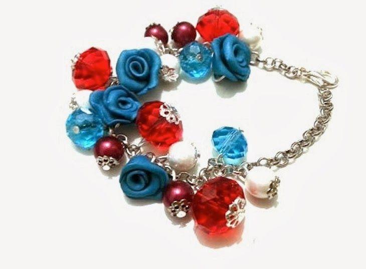 il giardino di tamara, bijoux romantici fiori uccellini cuori, collane fiori, bijoux etsy.com artigianato low cost, flowers, birds heart bij...