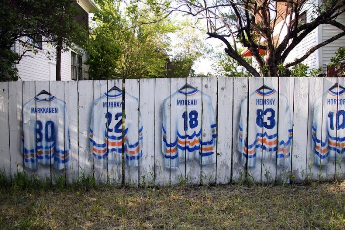 17 best images about hockey various on pinterest vancouver canucks artworks and sports art - Garden sheds edmonton ...