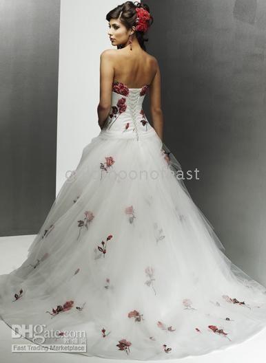 54 Best Red Rose Wedding Images On