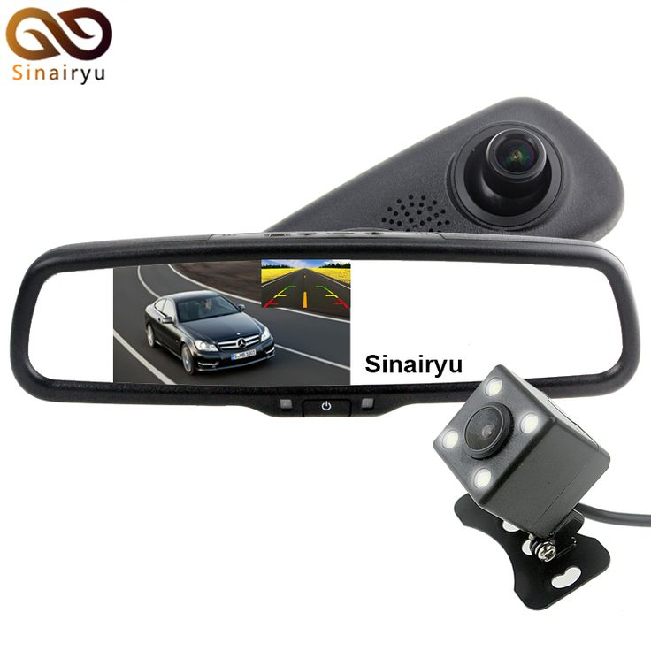 ==> [Free Shipping] Buy Best Wholesale Full HD 1080P 170 Degree 848480 5 Inch IPS LCD Screen Car DVR Video Recorder Parking Rear View Mirror Monitor Camera Online with LOWEST Price | 32803752798