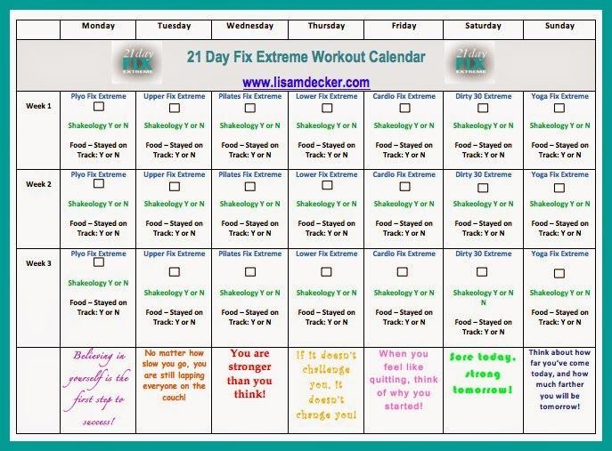 21 Day Fix Extreme Week 1 Planning and Prep | Fitness Motivation | 21 days,  21 Day Fix, 21 day fix extreme