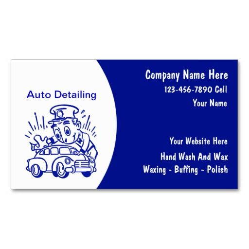 250 best Auto Detailing Business Cards images on Pinterest