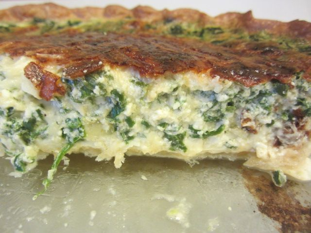 Cooking Through the Clippings: Quiche Florentine