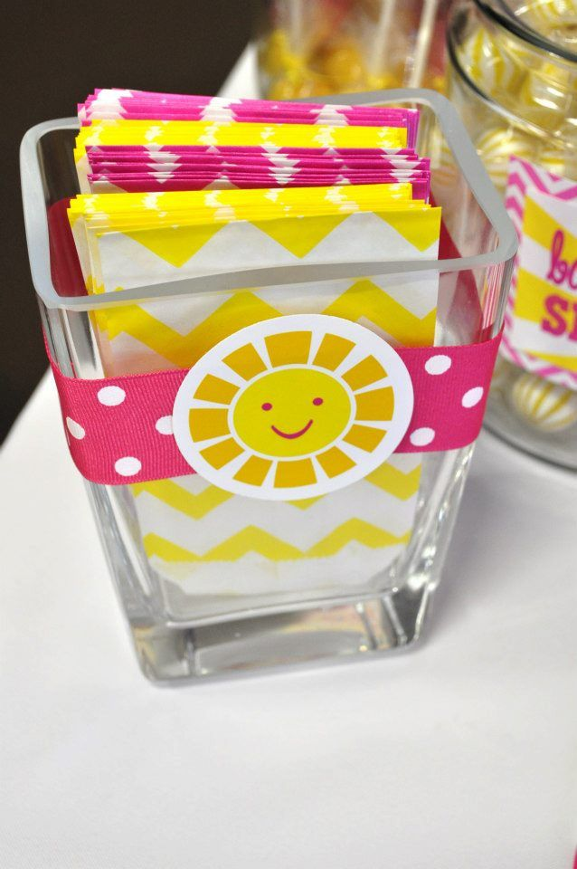 You are my Sunshine bags {BN Black Book of Parties} You Are My Sunshine Party