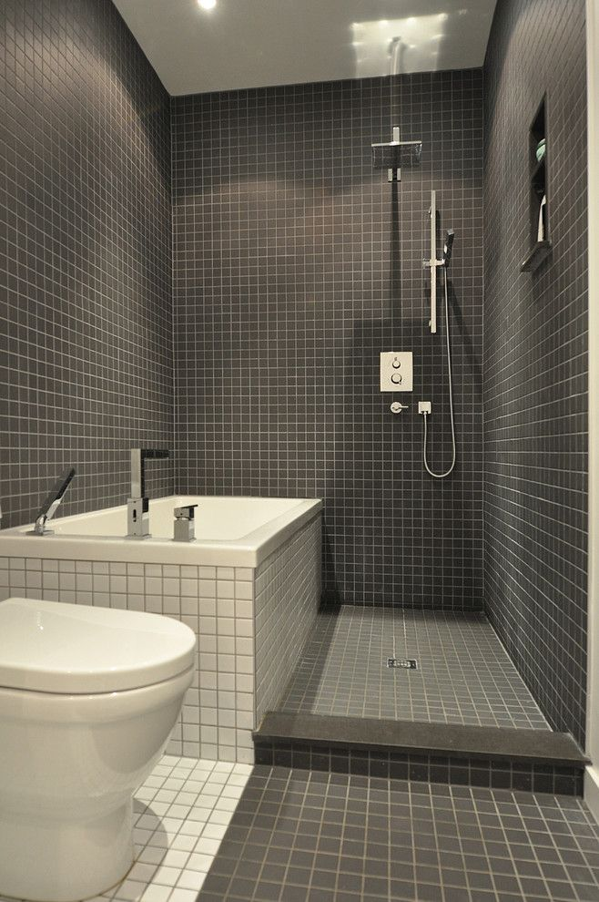 Elegant Small Bathroom Ideas With Tub And Shower Tile Work All Over The .