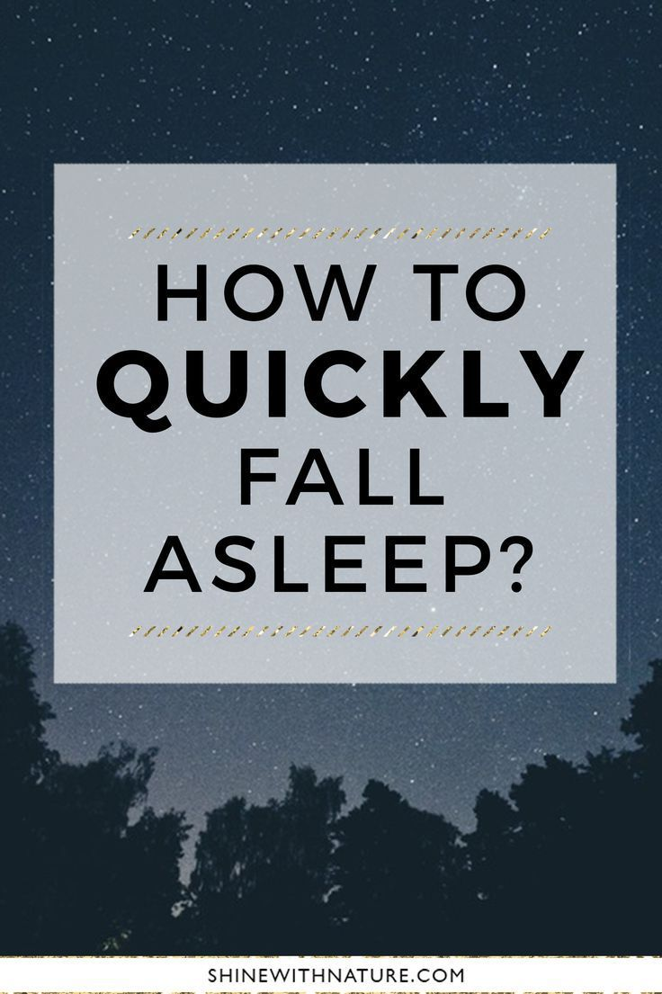 How To Quickly Fall Asleep