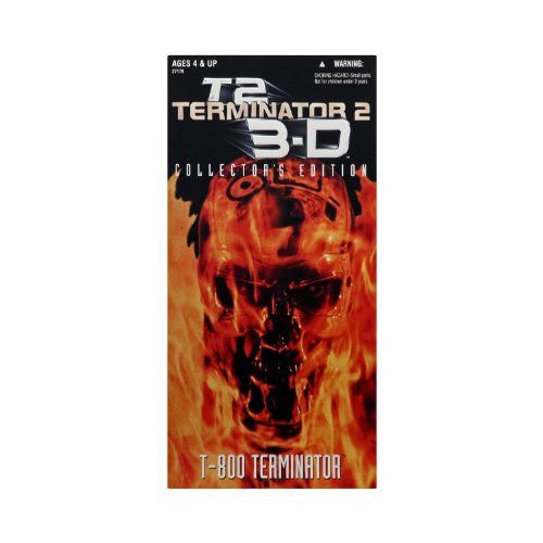 12 Terminator 2 Judgement Day T-800 Terminator Arnold Schwarzenegger Action Figure (1997 Kenner)