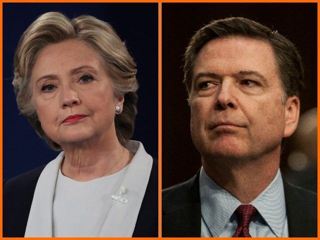 """President Trump: """"Wow, looks like James Comey exonerated Hillary Clinton long before the investigation was over…and so much more. A rigged system!"""" James Comey investigation sty…"""