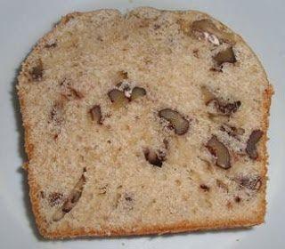Pan de nuez- Receta casera paso a paso con poco azucar, apta para hacer sanwiches/ emparedados..