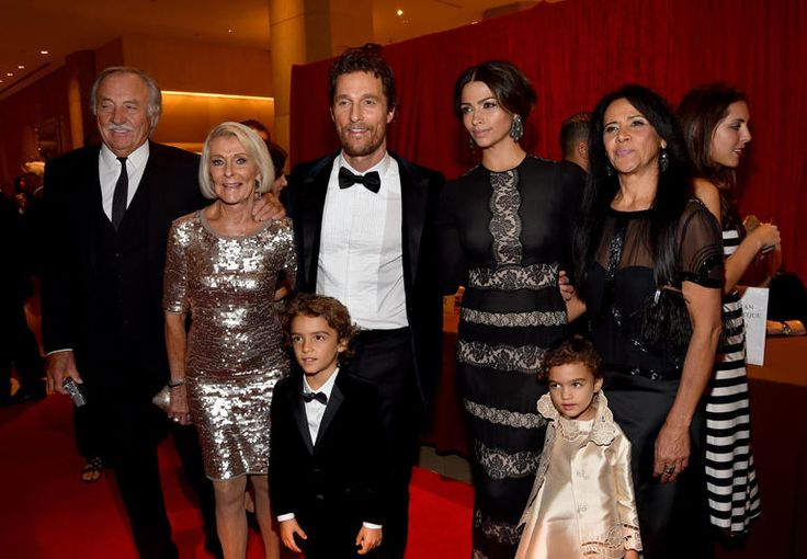 Matthew McConaughey family and costars were on hand to pay tribute to the star as he received an American Cinematheque tribute.