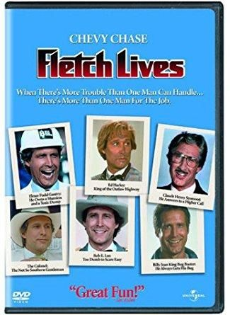 Chevy Chase & Hal Holbrook & Michael Ritchie-Fletch Lives