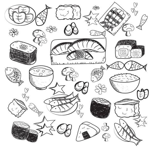 Еда нарисовать карандашом