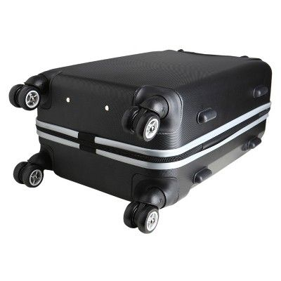NFL New England Patriots Mojo Carry-On Hardcase Spinner Luggage - Black