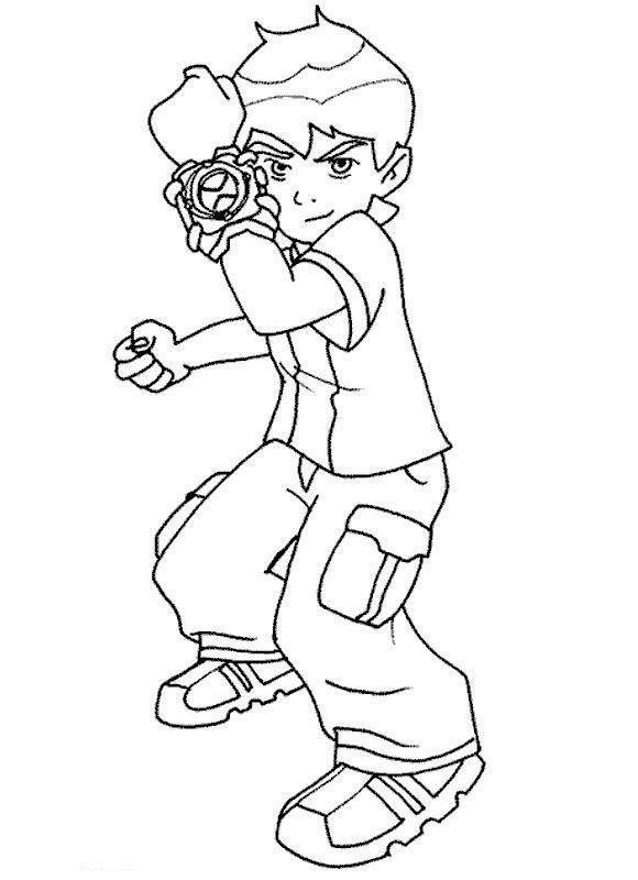 Dibujos Para Colorear Ninos De 10 A 12 Anos Coloring Books Coloring Pages Ben 10