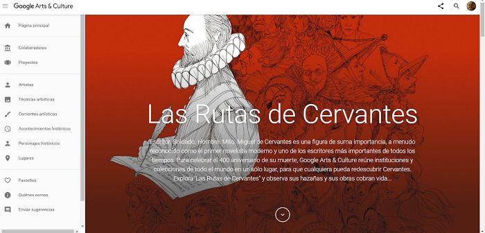 Crea y aprende con Laura: Las Rutas de Cervantes. Homenaje virtual de Google...
