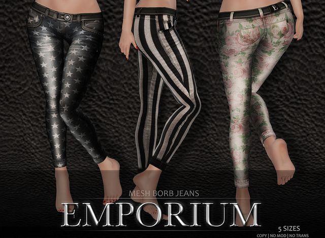 NEW EMPORIUM - Borb Jeans   Flickr - Photo Sharing!