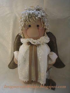 La Signora delle Idee: Lady Angel Doll...come fare di un angelo una bambo...