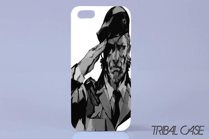 Big boss #metal gear case