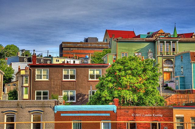 Buildings in colour , St. John's , Newfoundland | Flickr - Photo Sharing!