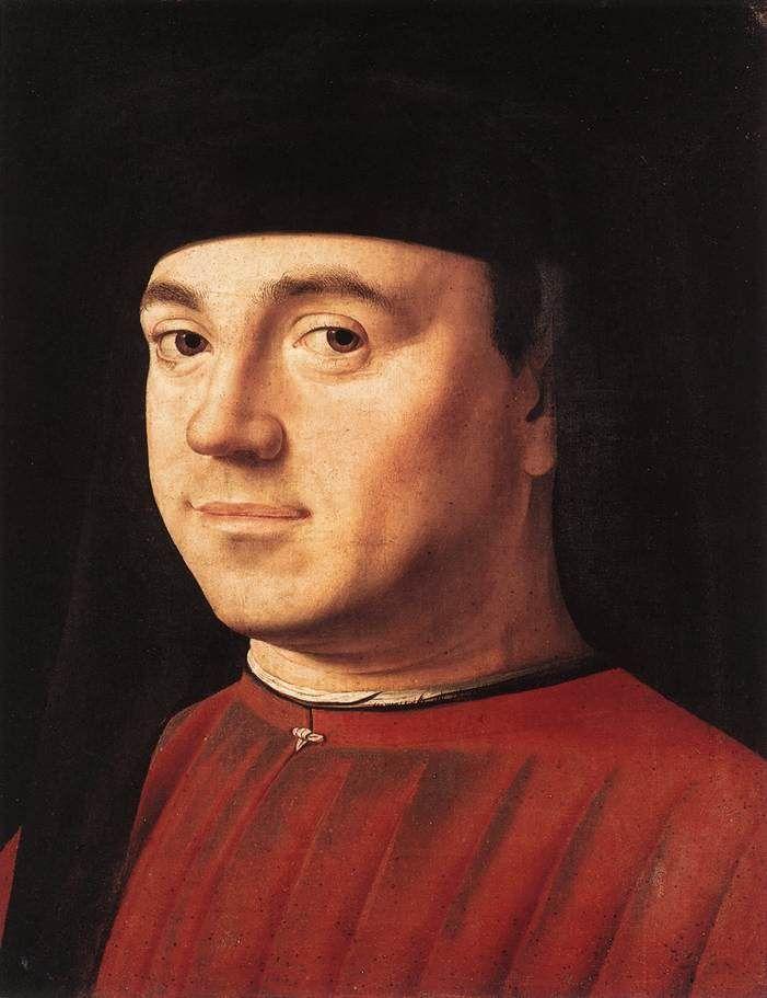 Antonello da Messina Ritratto virile, c. 1475