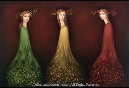 ∴ Trios ∴ the three graces & groups of 3 in art and photos - Three Graces