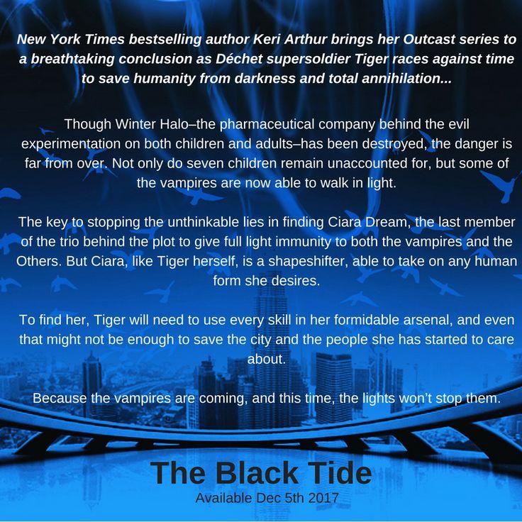 The Black Tide (Outcast 3) Backcover copy