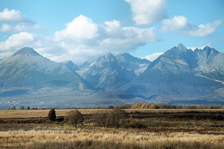 View of the Slovakian High Tatras by krystyna kupiszak